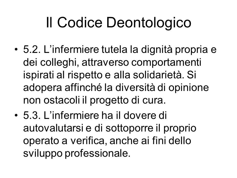 Il Codice Deontologico