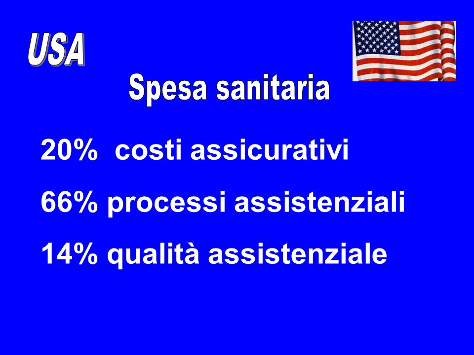 66% processi assistenziali 14% qualità assistenziale