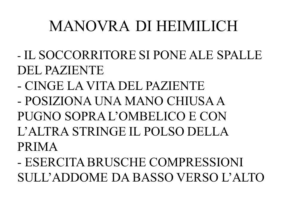 MANOVRA DI HEIMILICH