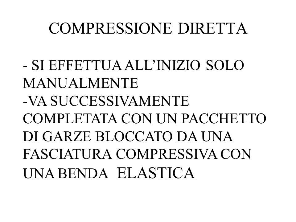 COMPRESSIONE DIRETTA