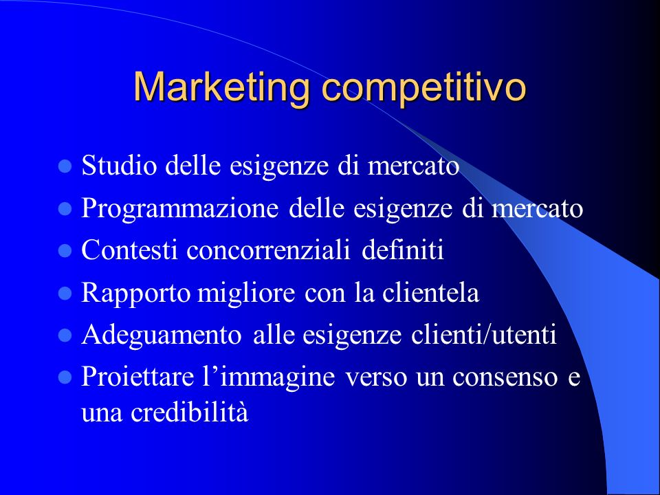 Marketing competitivo