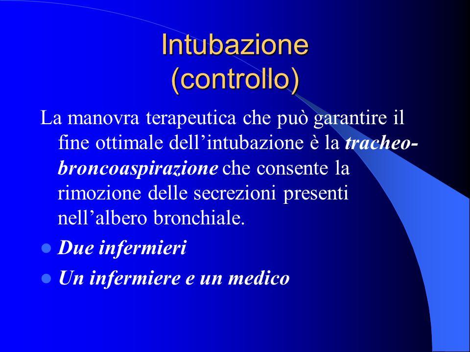 Intubazione (controllo)