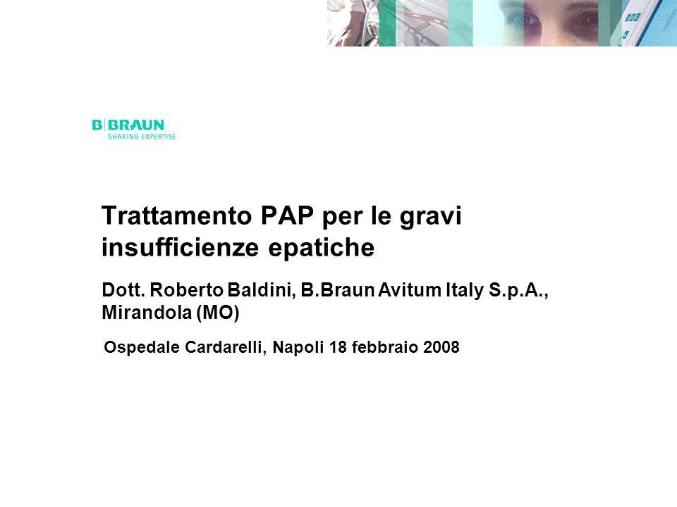 Trattamento PAP per le gravi insufficienze epatiche