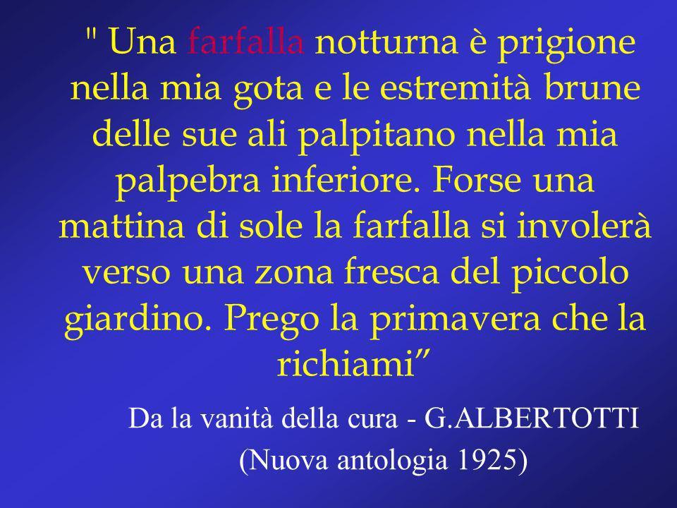 Da la vanità della cura - G.ALBERTOTTI (Nuova antologia 1925)