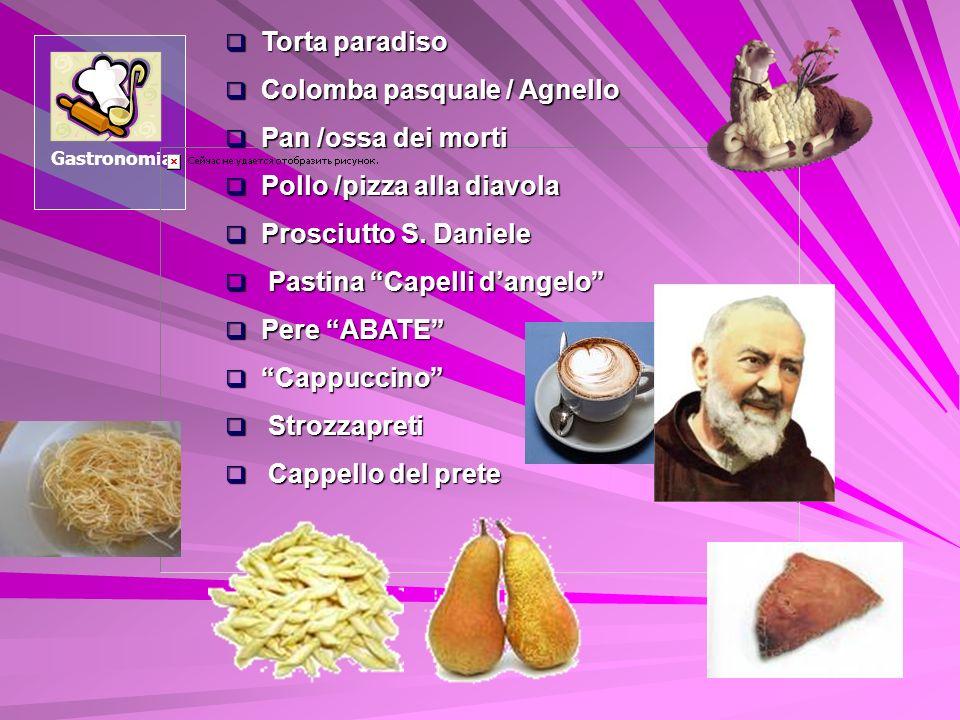 Colomba pasquale / Agnello Pan /ossa dei morti