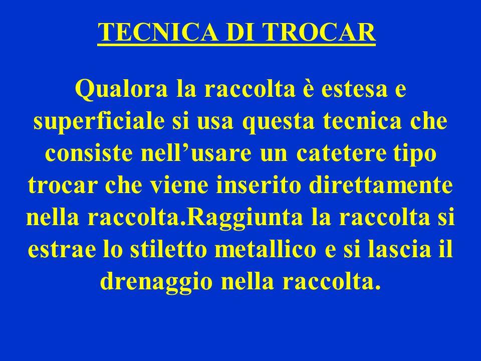 TECNICA DI TROCAR