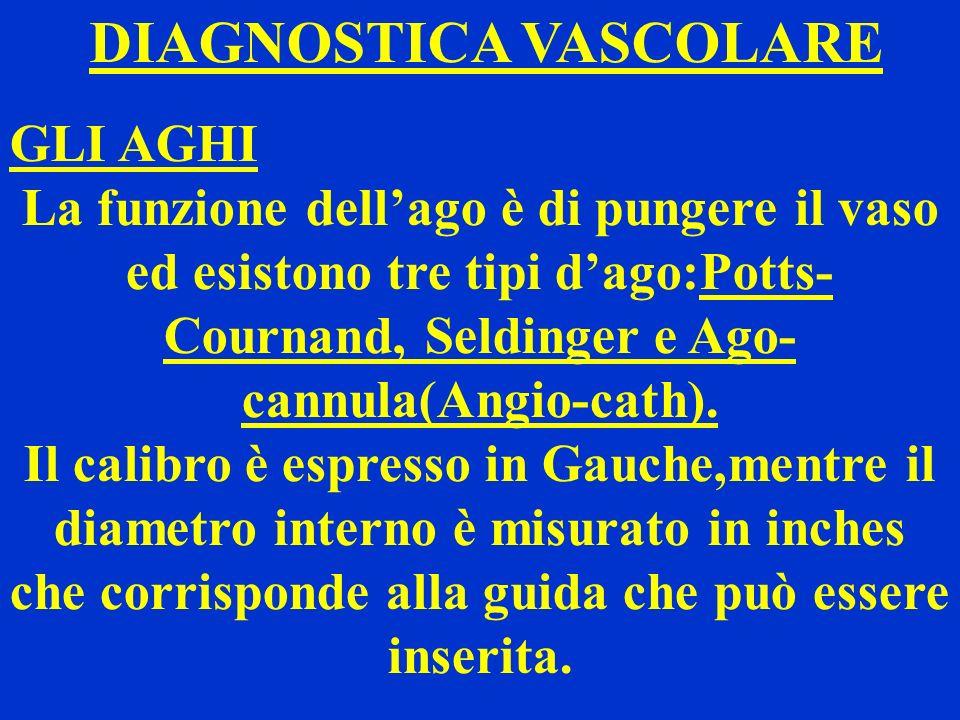 DIAGNOSTICA VASCOLARE
