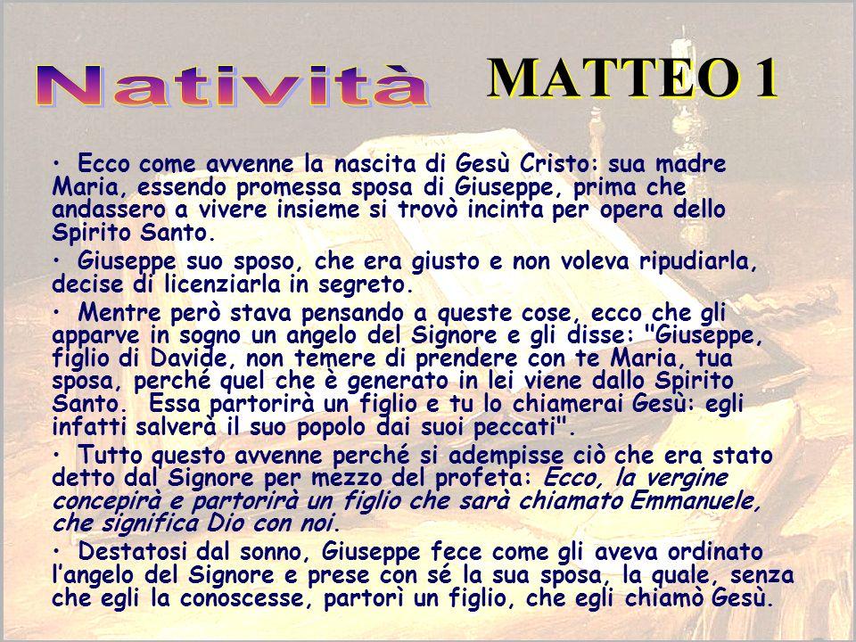 MATTEO 1 Natività.