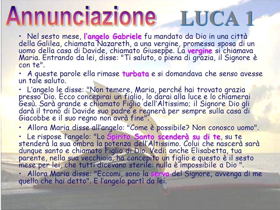 Annunciazione LUCA 1.
