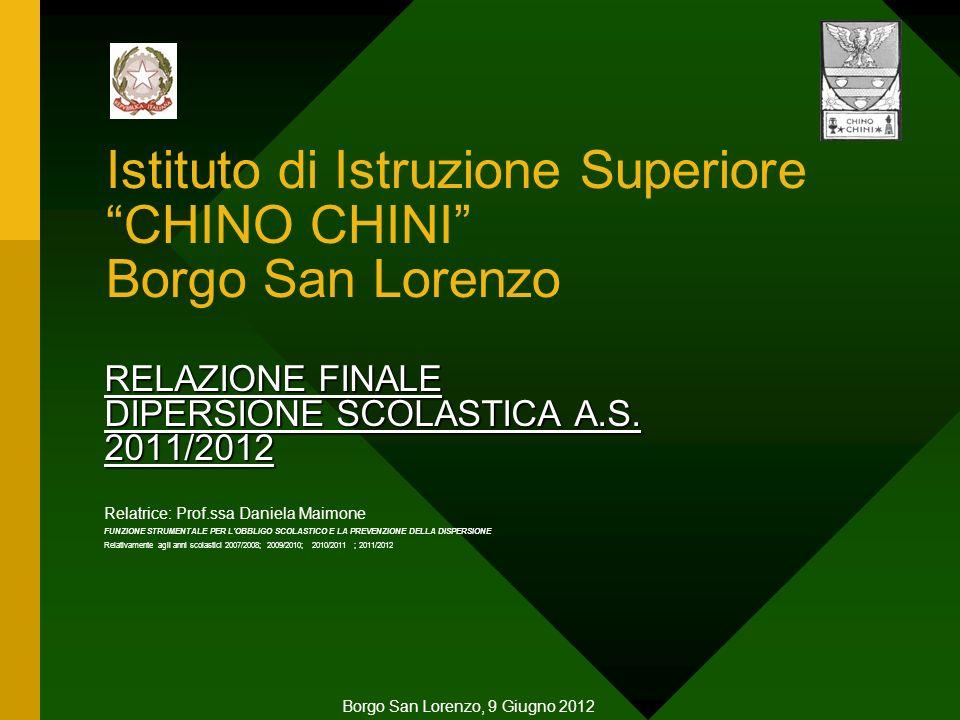 Istituto di Istruzione Superiore CHINO CHINI Borgo San Lorenzo