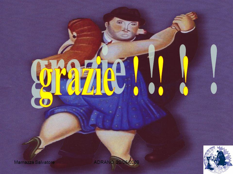 grazie ! ! ! Mamazza Salvatore ADRANO 20/06/2009