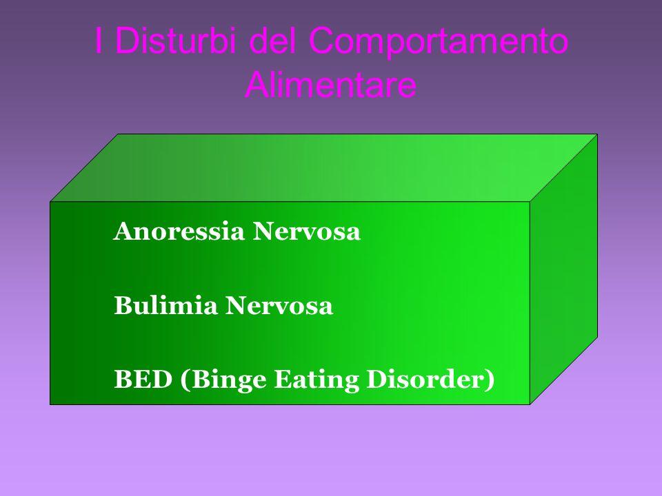 I Disturbi del Comportamento Alimentare
