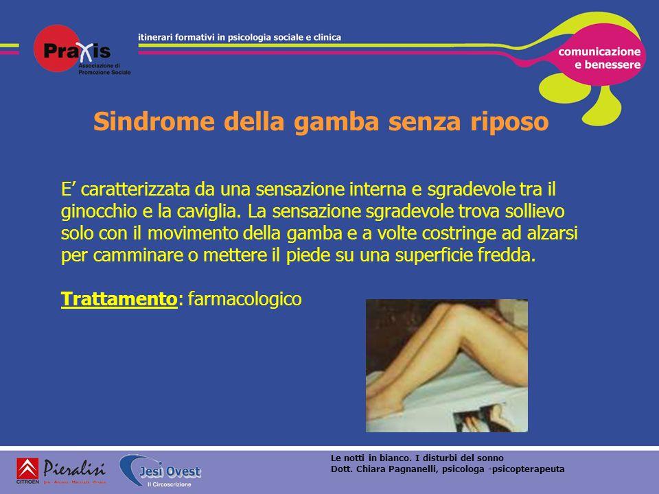 Sindrome della gamba senza riposo