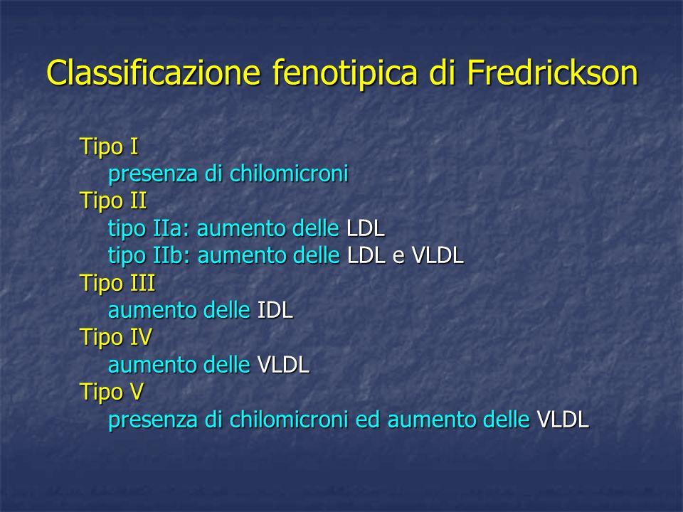 Classificazione fenotipica di Fredrickson