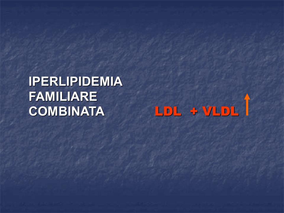 IPERLIPIDEMIA FAMILIARE COMBINATA LDL + VLDL