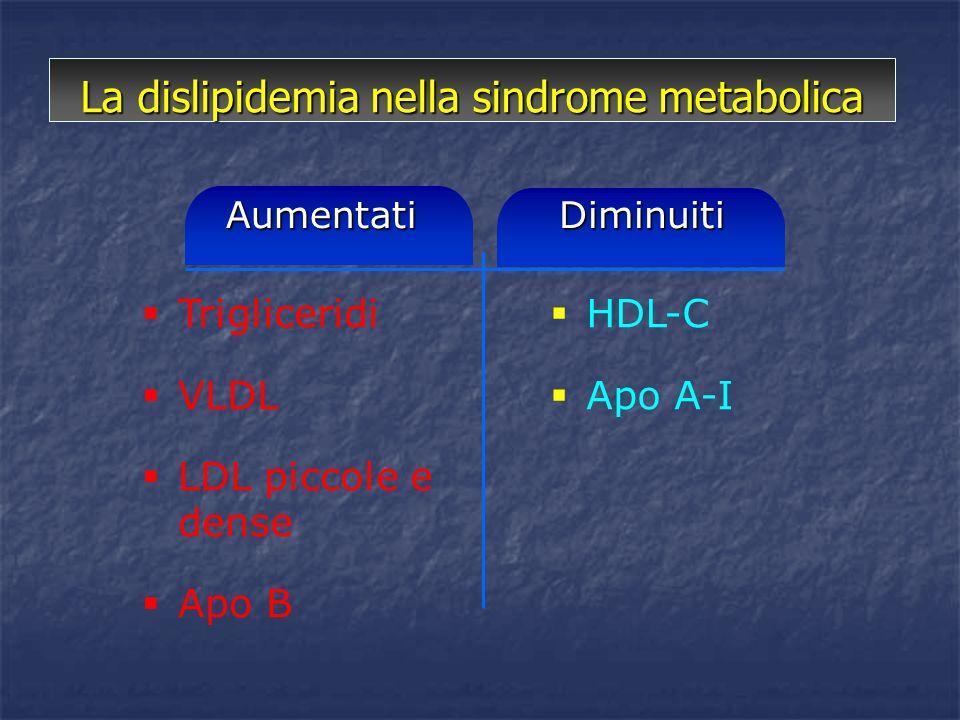 La dislipidemia nella sindrome metabolica