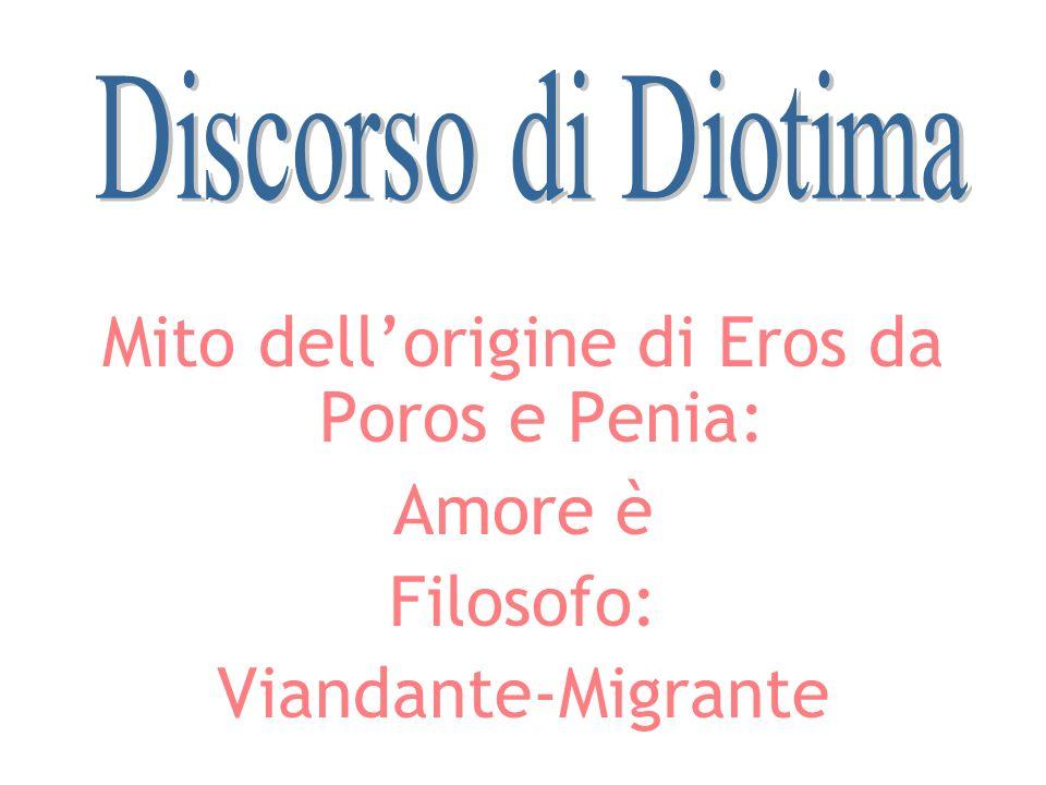 Mito dell'origine di Eros da Poros e Penia: