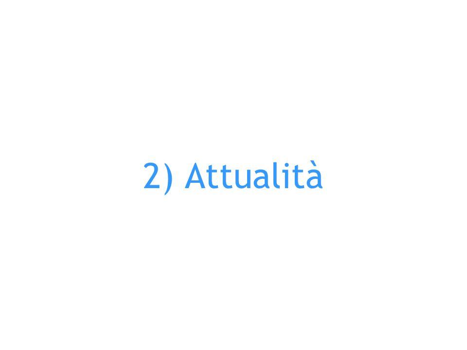 2) Attualità