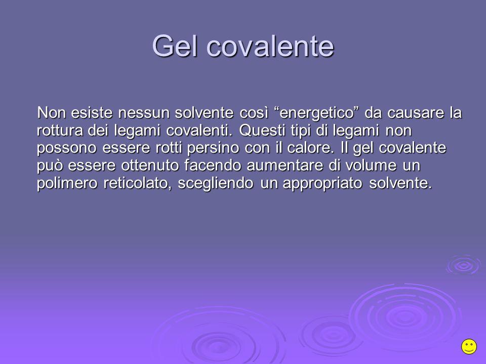 Gel covalente