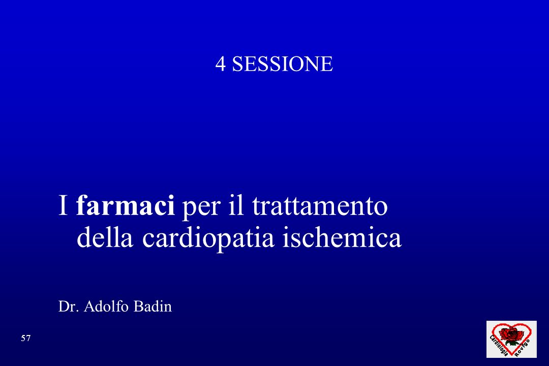 I farmaci per il trattamento della cardiopatia ischemica