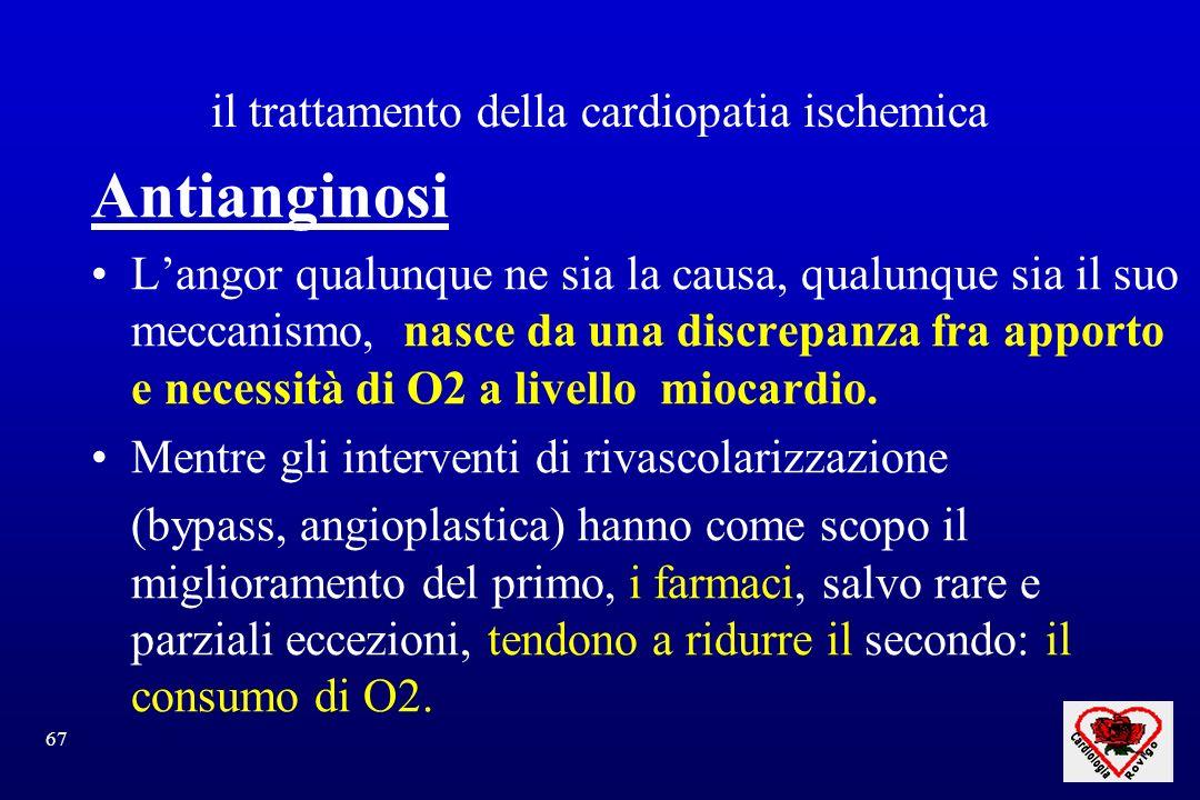 il trattamento della cardiopatia ischemica