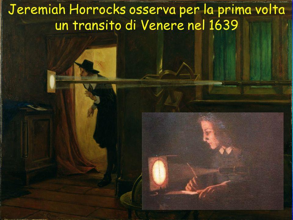 Jeremiah Horrocks osserva per la prima volta un transito di Venere nel 1639