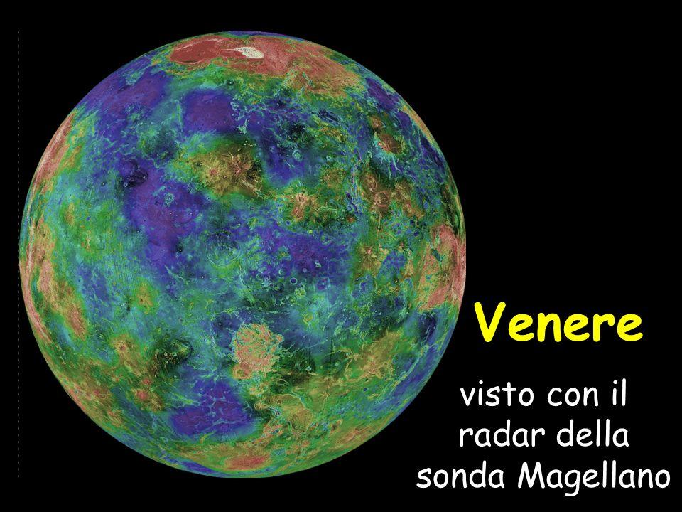 visto con il radar della sonda Magellano