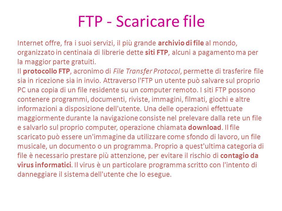 FTP - Scaricare file