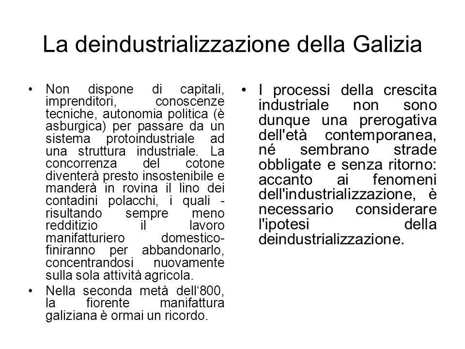 La deindustrializzazione della Galizia