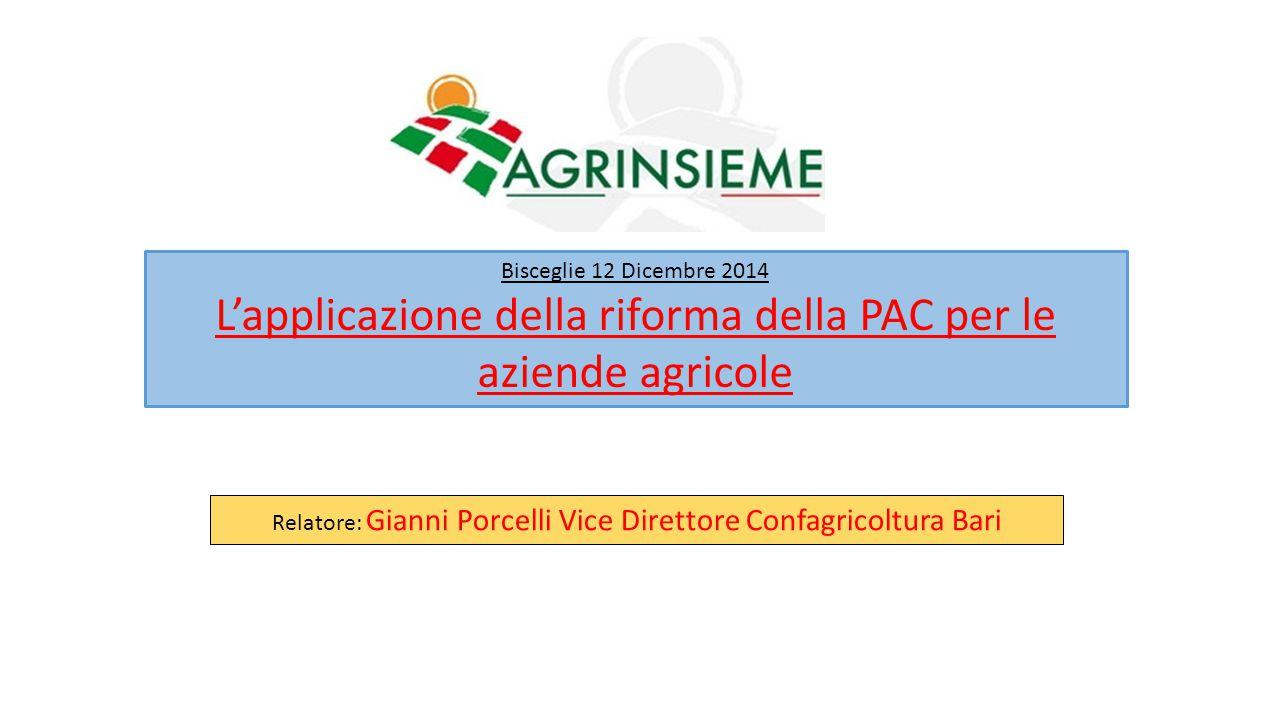 L'applicazione della riforma della PAC per le aziende agricole
