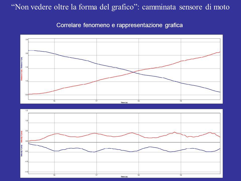 Non vedere oltre la forma del grafico : camminata sensore di moto