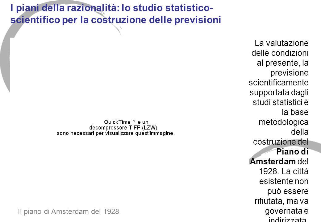 I piani della razionalità: lo studio statistico-scientifico per la costruzione delle previsioni