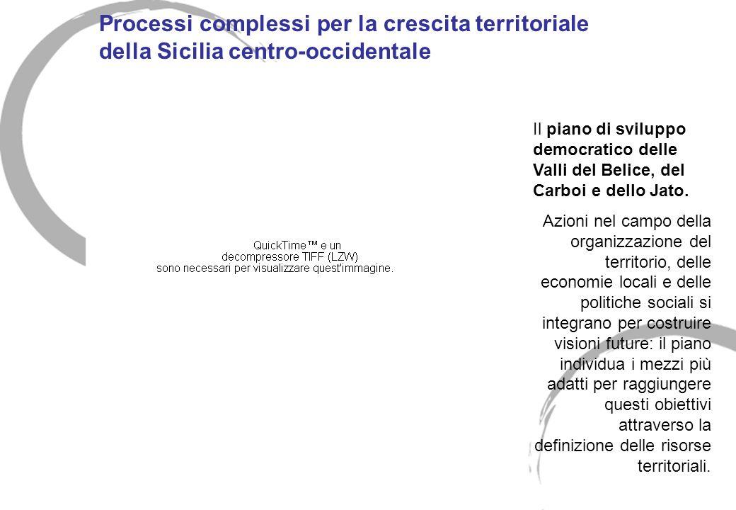 Processi complessi per la crescita territoriale della Sicilia centro-occidentale