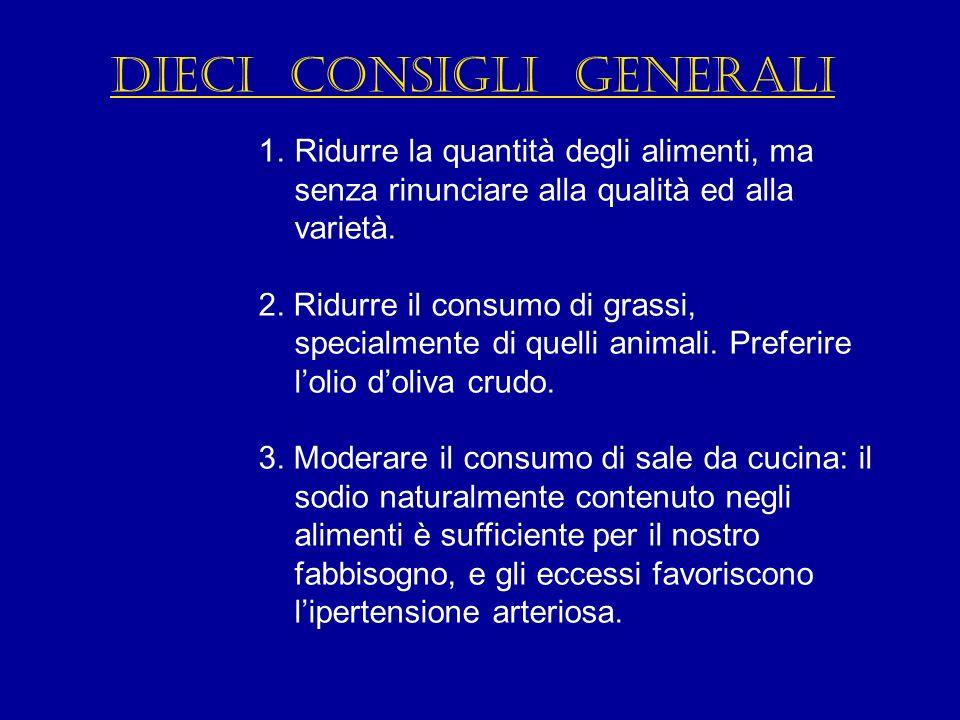 Dieci consigli generali