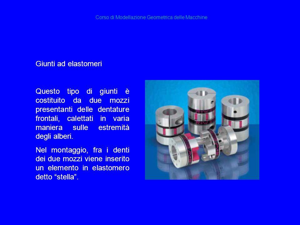 Corso di Modellazione Geometrica delle Macchine