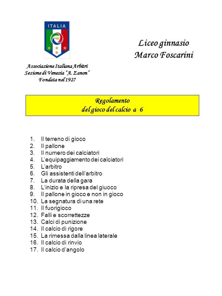 Associazione Italiana Arbitri Sezione di Venezia A. Zanon