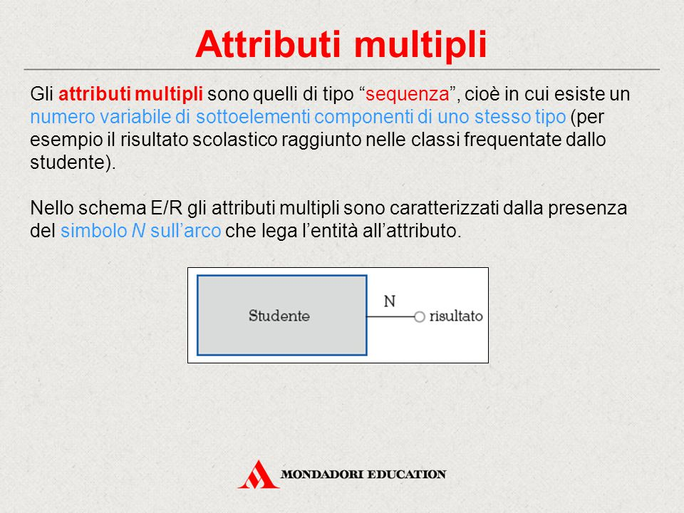 Attributi multipli