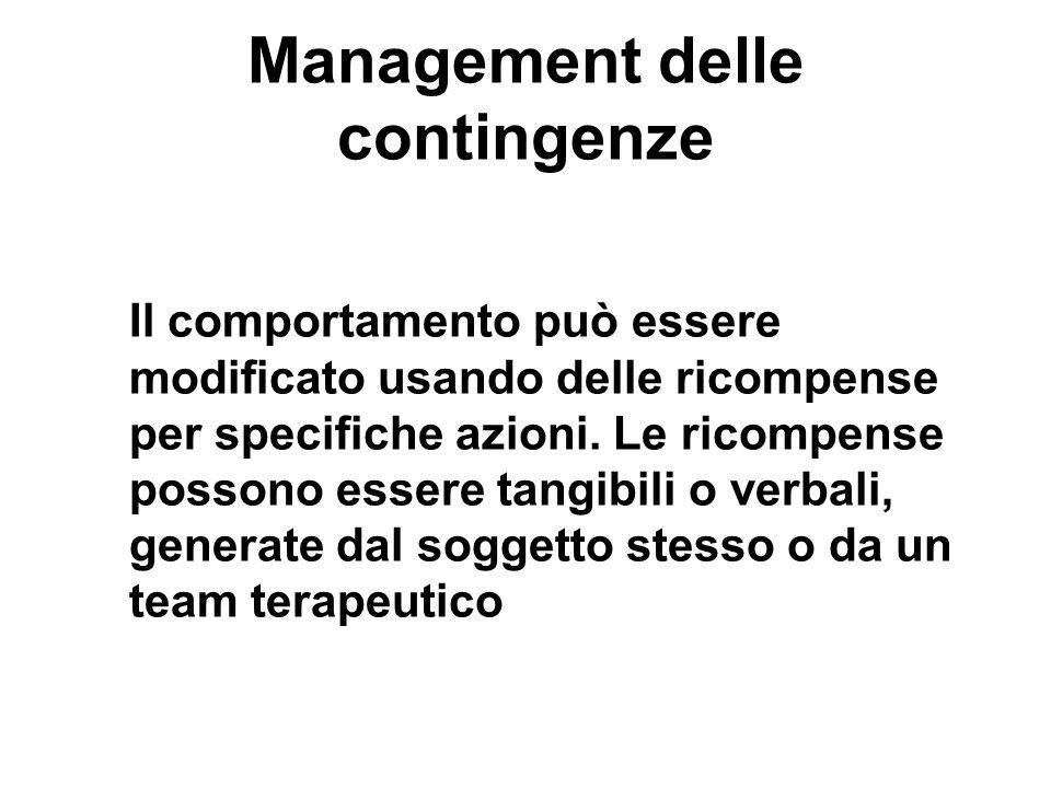 Management delle contingenze