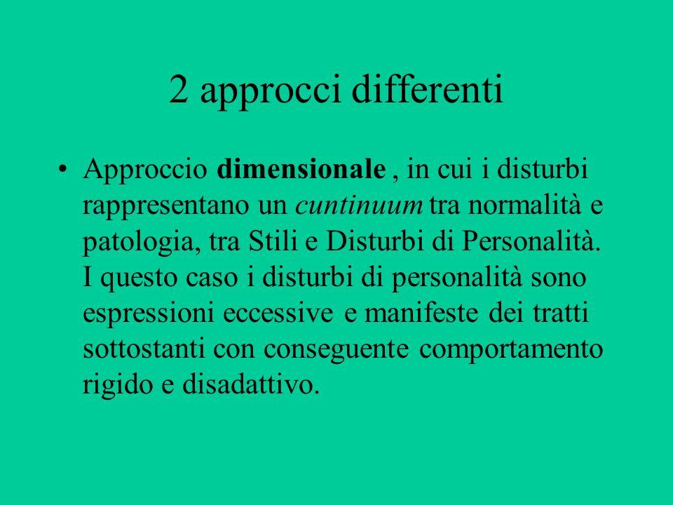 2 approcci differenti