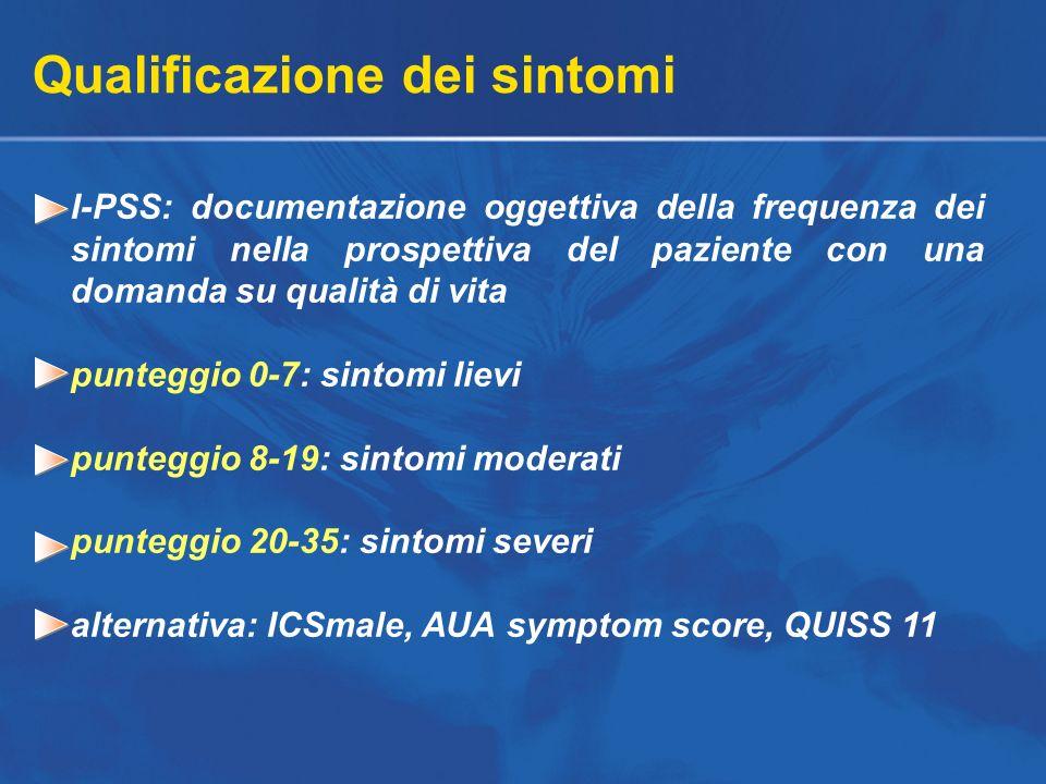 Qualificazione dei sintomi