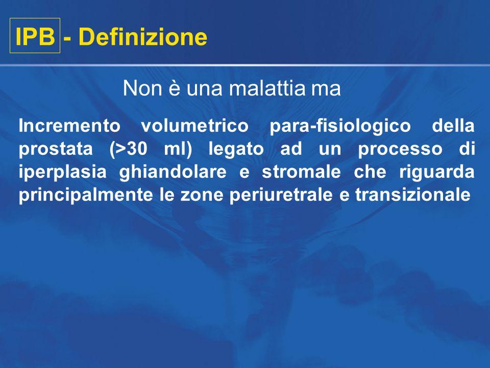 IPB - Definizione Non è una malattia ma