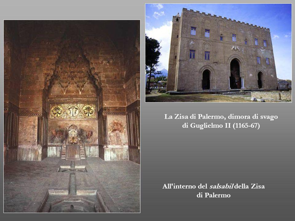 La Zisa di Palermo, dimora di svago di Guglielmo II (1165-67)