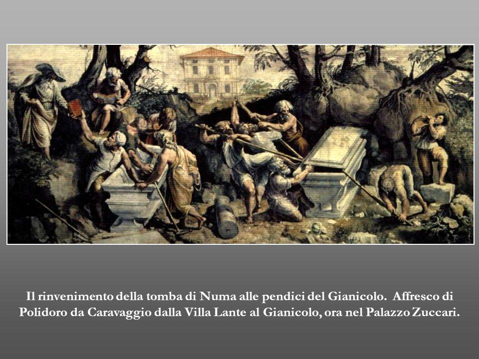 Il rinvenimento della tomba di Numa alle pendici del Gianicolo