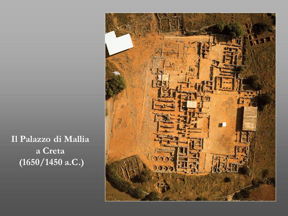 Il Palazzo di Mallia a Creta (1650/1450 a.C.)