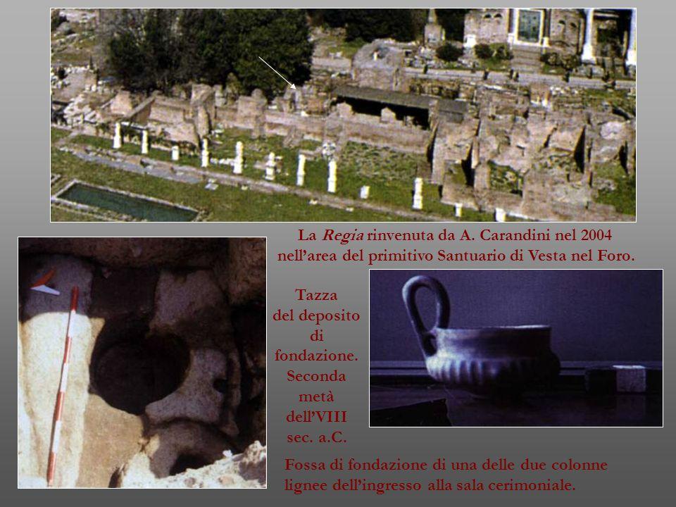 La Regia rinvenuta da A. Carandini nel 2004
