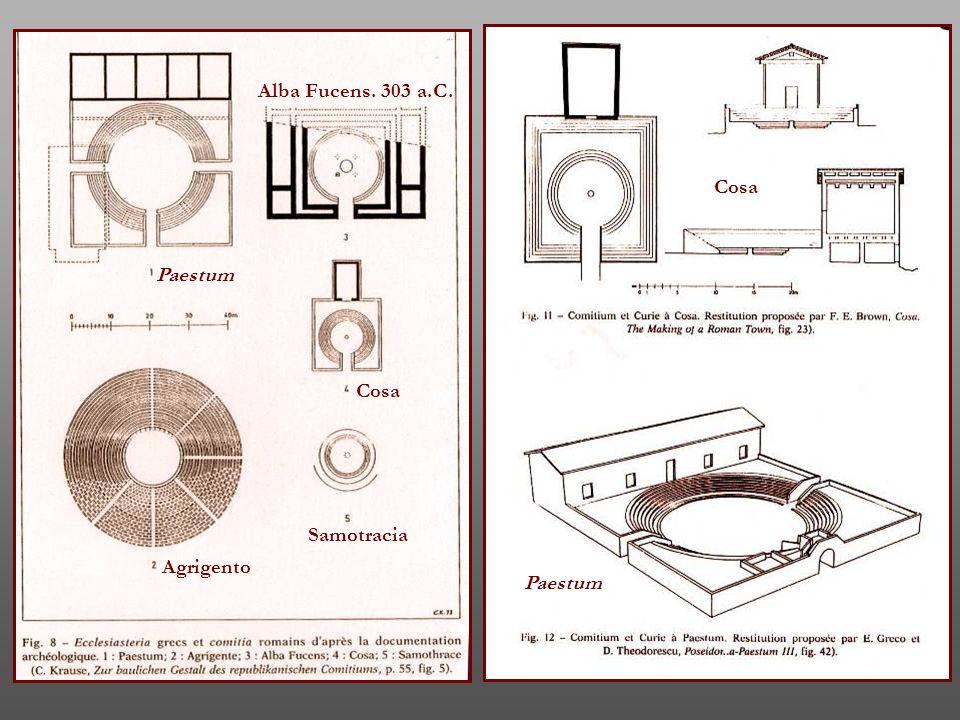 Alba Fucens. 303 a.C. Cosa Paestum Cosa Samotracia Agrigento Paestum