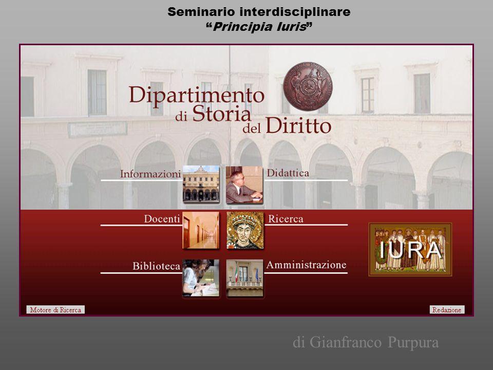 Seminario interdisciplinare