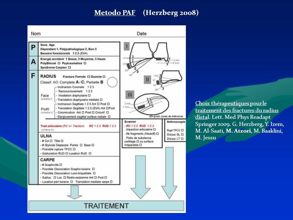 Metodo PAF (Herzberg 2008)