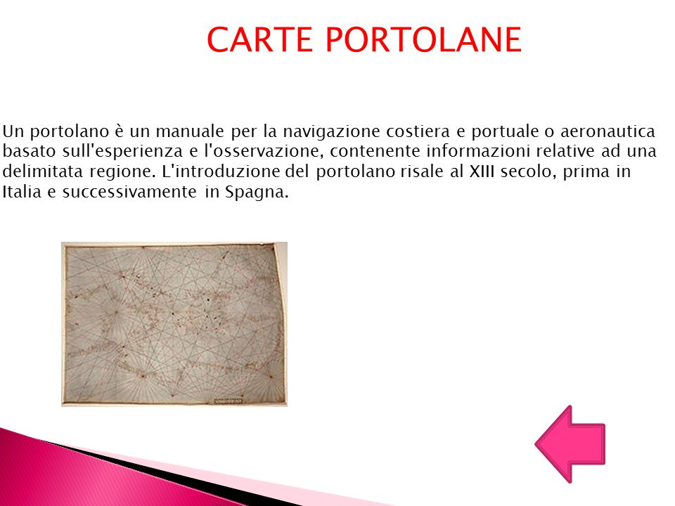 CARTE PORTOLANE