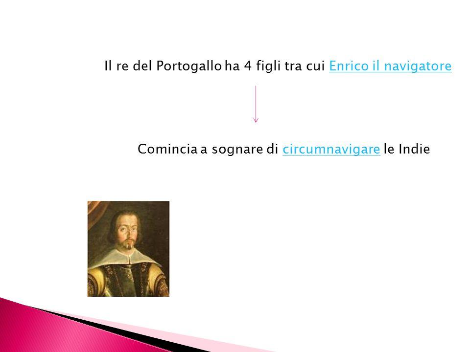 Il re del Portogallo ha 4 figli tra cui Enrico il navigatore